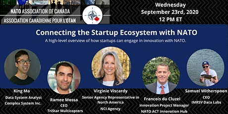 Connecting the Startup Ecosystem with NATO tickets
