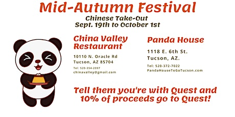 Quest Fundraiser at Panda House tickets
