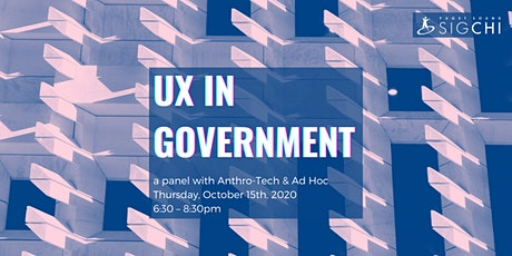 UX in Government tickets