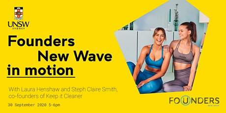 New Wave in Motion with Keep it Cleaner co-founders tickets