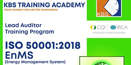 ISO 50001:2018 - EnMS Lead Auditor Training tickets