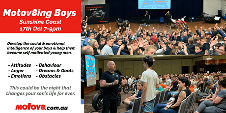 Motov8ing Boys - Sunshine Coast tickets