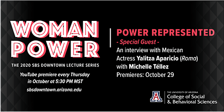 POWER REPRESENTED: Interview with Indigenous Actress Yalitza Aparicio tickets