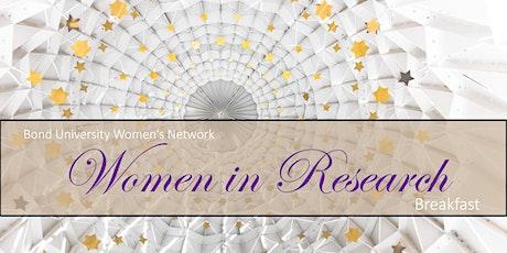 BUWN Women in Research Breakfast 2020 tickets