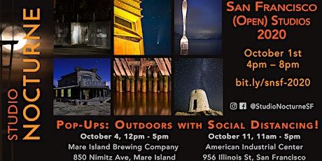 San Francisco Open Studios 2020: Studio Nocturne SF Pop-Up 1 – Mare Island tickets
