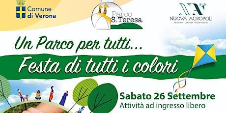 """Parco S. Teresa – """"Festa di tutti i colori"""" biglietti"""