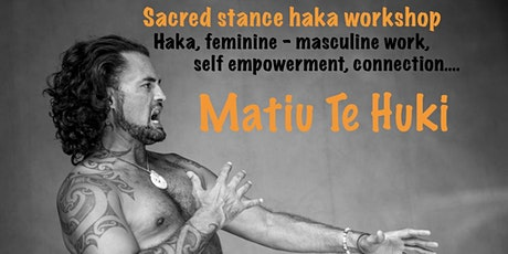 Sacred stance haka workshop - Exchange Christchurch (XCHC) tickets