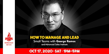 How to Manage and Lead Small Teams with George Ramos tickets