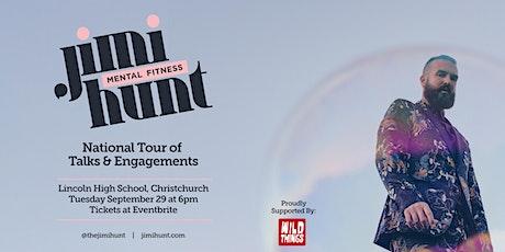 Jimi Hunt - Mental Fitness Talk - Christchurch tickets