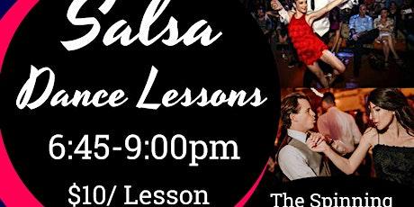 Salsa Dance Lessons & Social Dance tickets