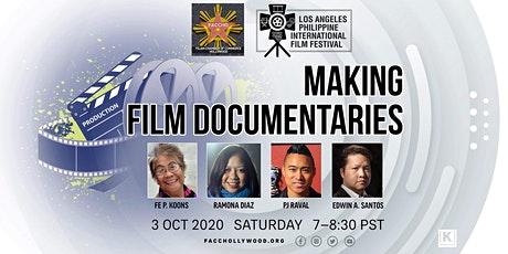 Guest Panel: Making Film Documentaries tickets