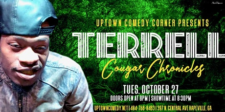 Comedian Terrell Presents The Cougar Chronicles Tour tickets