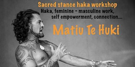 Sacred stance haka workshop - Takaka tickets