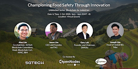 Championing Food Safety Through Innovation tickets