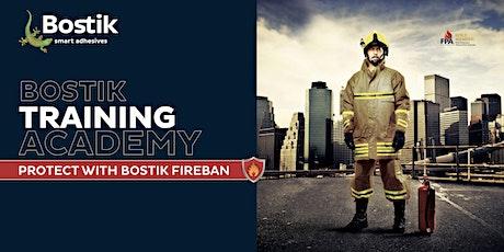 Bostik Training Academy- Fireban Training tickets