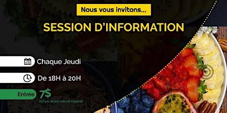 LiveStreaming: L'alimentation Végétale_Session d 'information billets
