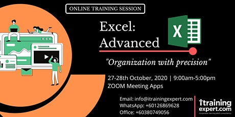 Microsoft Excel – Advanced tickets