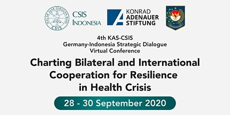 The 4th KAS-CSIS Germany – Indonesia Strategic Dialogue tickets