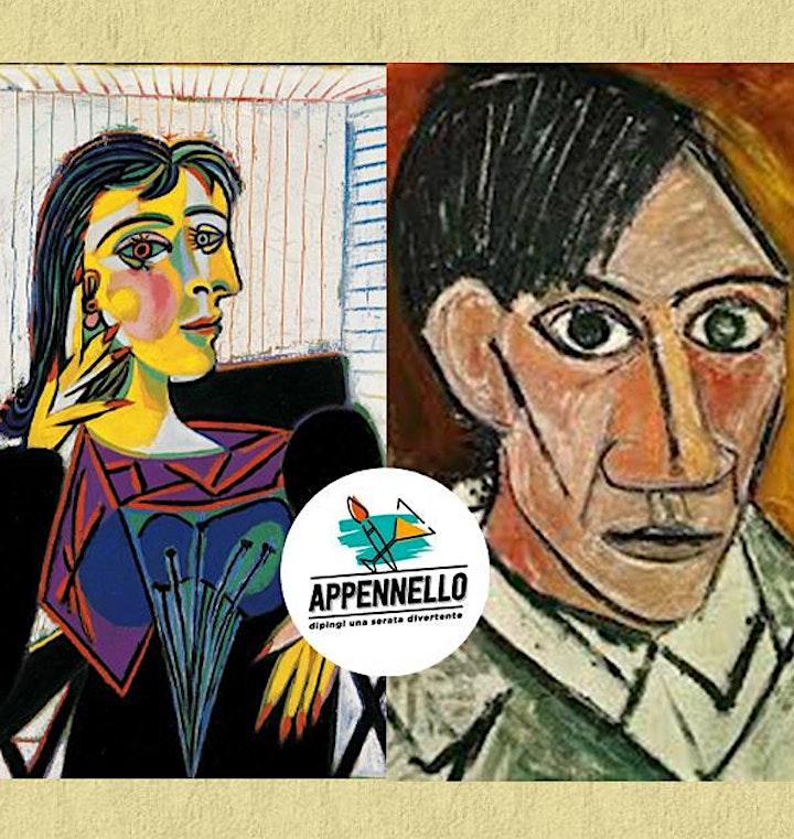 Immagine Milano: Autoritratto come Picasso, un aperitivo Appennello