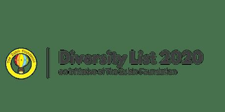 DIVERSITY LIST 2020 : Women's Voice - Launch Event tickets