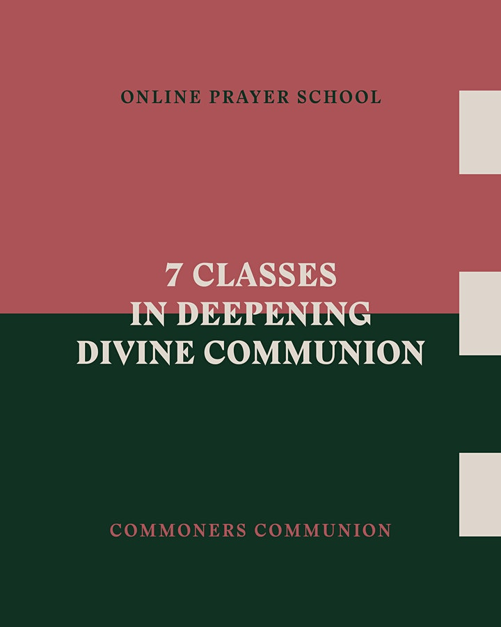 Commoners Communion - Online Prayer School (Central Time US) image