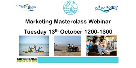 Marketing Masterclass: How to accelerate out of the crisis tickets