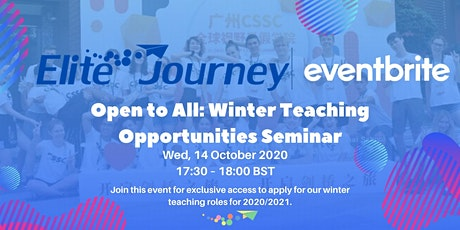 Open to all: Winter Teaching Opportunities Seminar tickets