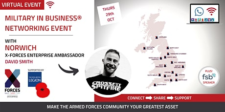 Military in Business Virtual Networking Event: Norwich tickets