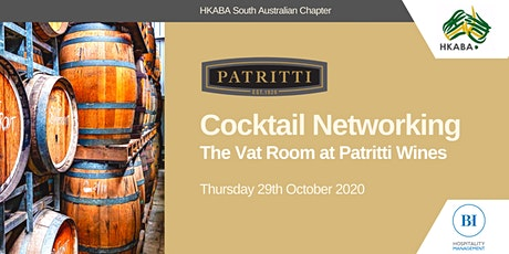 The Vat Room Networking and Cocktail Event HKABA SA Chapter tickets
