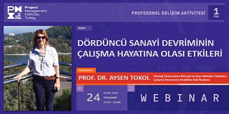 PMI TR Profesyonel Gelişim Bursa Aktivitesi - 24 Eylül 2020 - WEBINAR tickets
