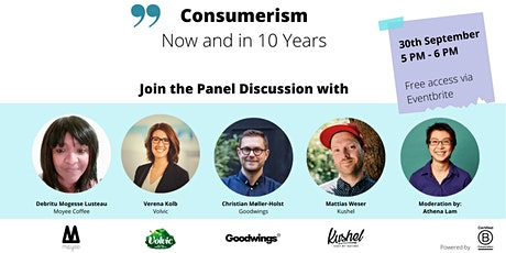 Consumerism Now and in 10 Years tickets