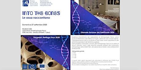 INTO THE BONES - le ossa raccontano biglietti