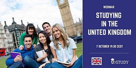 Webinar Studying in the United Kingdom tickets