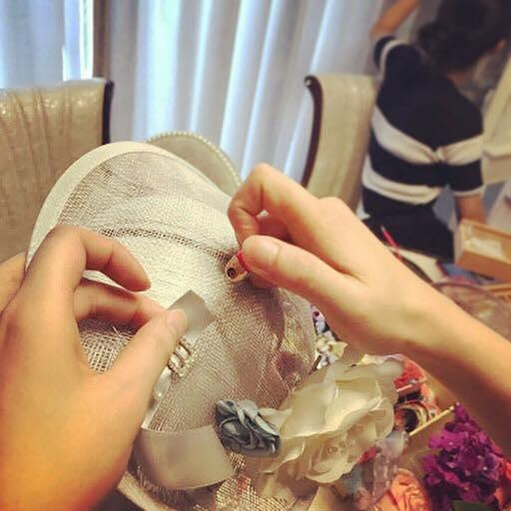 Millinery Workshop - Headpiece for Beginners (2021) image