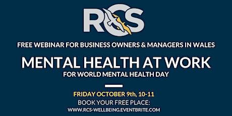 Mental Health: Free Webinar tickets