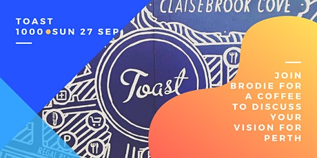 Meet and Greet @ Toast Cafe tickets