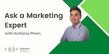 Ask a Marketing Expert tickets