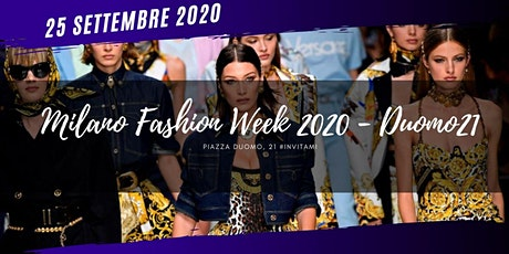 PAM / Milano Fashion Week 2020 @TerrazzaDuomo21 biglietti
