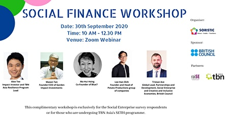Social Finance Workshop tickets