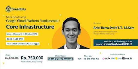 [Minibootcamp ] Google Cloud Platform Fundamentals: Core Infrastructure tickets