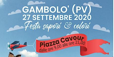 FESTA SAPORI E COLORI a Gambolo' (PV) biglietti