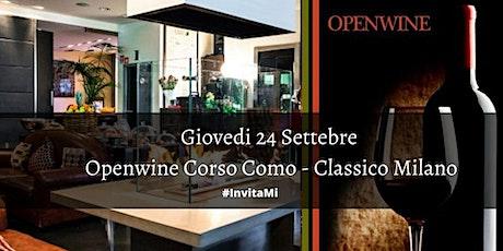 OPENWINE - In CORSO COMO - Classico Milano / AmaMi Eventi biglietti