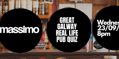 The Great Galway Real Life TableQuiz tickets