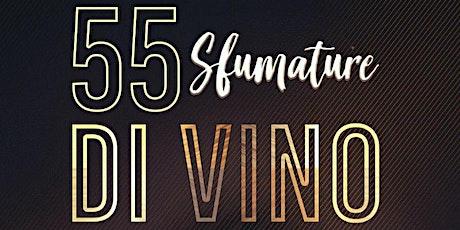 55 Sfumature di vino biglietti
