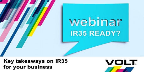 Key takeaways when preparing your business for IR35 tickets
