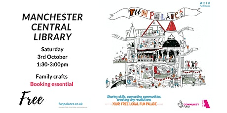 Tiny Fun Palace family afternoon at Central Library tickets