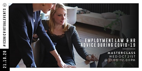 Employment Law & HR Advice during Covid-19 with HR Team tickets