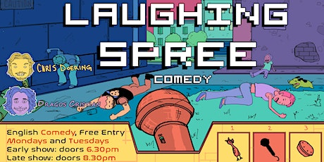 FREE ENTRY English Comedy Show - Laughing Spree 26.10. - LATE SHOW tickets