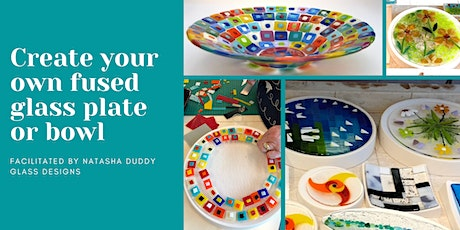 Fused Glass Plates or Bowls Workshop tickets