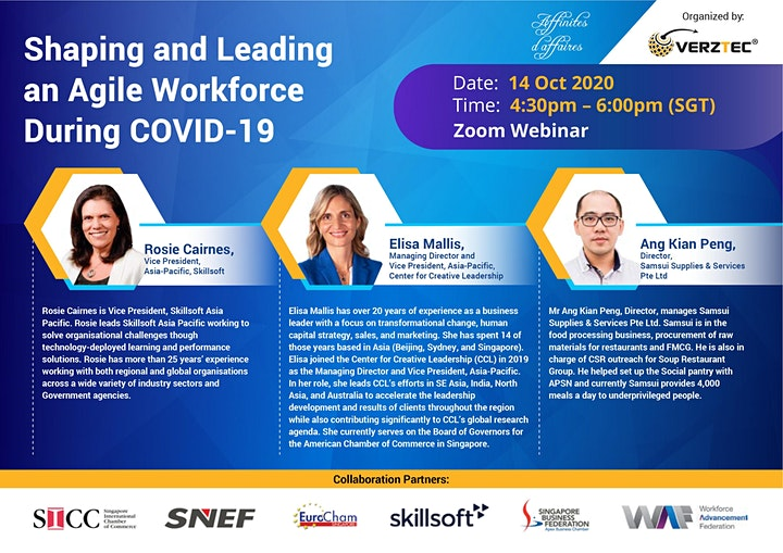 Shaping and Leading an Agile Workforce During COVID-19 image